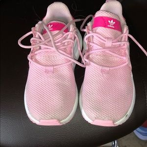 Adidas shoes, pink